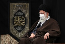 رہبر معظم انقلاب اسلامی کی موجودگی میں مجلس عزا منعقد
