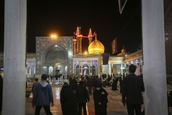 Mourning ceremonies at Hazrat Masoumeh Shrine