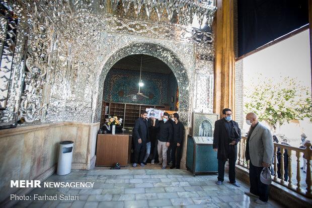 تشییع پیکر مطهر شهید زکریا شیری در قزوین