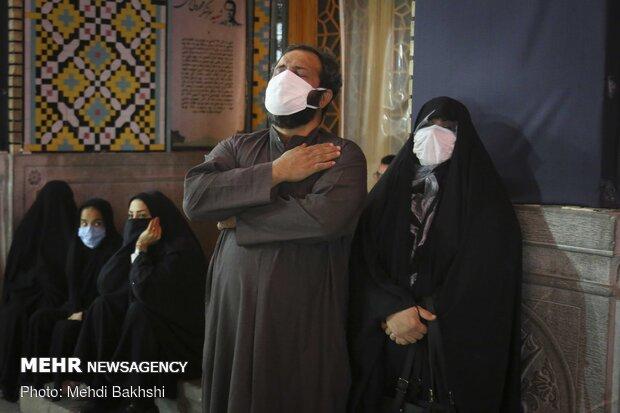 Mourning ceremonies at Hazrat Masoumeh Shrine