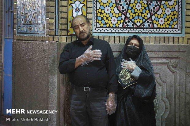 حال و هوای حرم اخت الرضا(ع)در شب شهادت ثامن الحجج