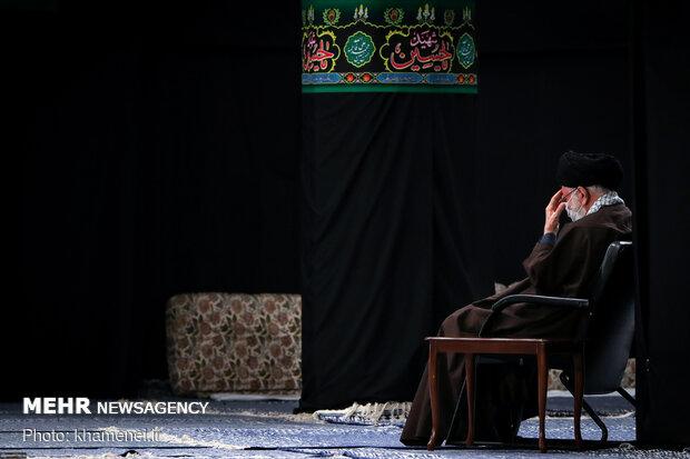 Leader mourning Imam Reza martyrdom anniversary