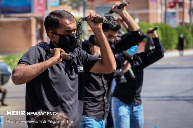 İran'da Hz. İmam Rıza (a.s) için matem töreni yapıldı
