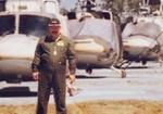 پیکر خلبان هوانیروز  دوران دفاع مقدس در اصفهان تشییع شد