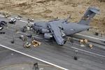 هواپیمای آمریکائی در افغانستان مجبور به فرود اضطراری شد