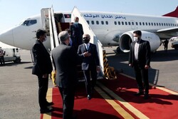 Abdullah Abdullah arrives in Tehran
