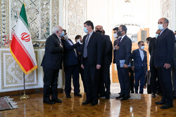FM Zarif meeting with Abdullah in Tehran