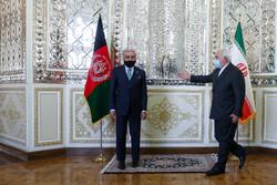 ایرانی وزیر خارجہ سے عبداللہ عبداللہ کی ملاقات