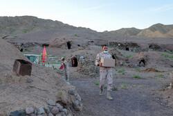جنوبی خراسان میں پولیس کی جانب سے مؤمنانہ امداد مستحقین تک پہنچائي گئی
