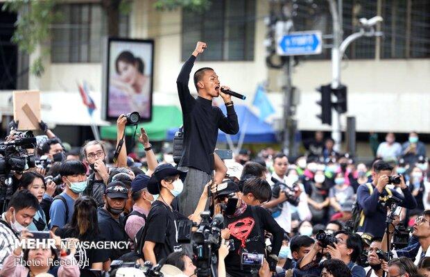 بازگشت هزاران معترض تایلندی به خیابانها