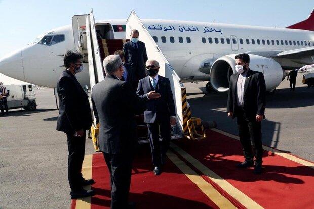Abdullah Abdullah arrives in Tehran
