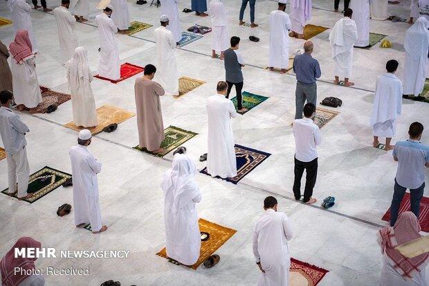 Mescid-i Haram'ın kapıları yeniden ibadete açıldı