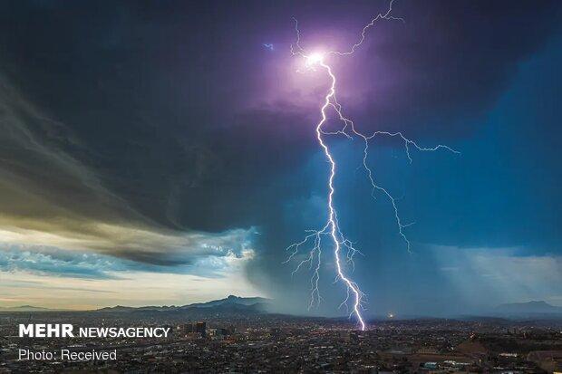 برترین تصاویر ۲۰۲۰ با موضوع آب و هوا