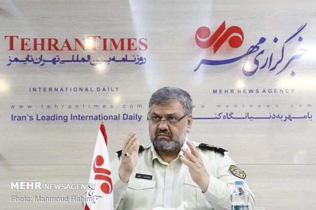 گفتگو با سردار محمدرضا مقیمی رئیس پلیس امنیت اقتصادی ناجا