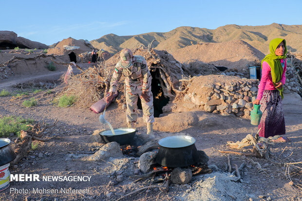 رزمایش کمک مومنانه در مناطق مرزی خراسان جنوبی