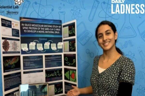 نوجوان ۱۴ ساله مولکولی برای مقابله با کووید۱۹ ساخت!
