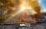 انفجار مهیب در ویرجینیا آمریکا