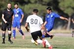 تیم فوتبال نفت مسجدسلیمان دربازی تدارکاتی شکست خورد
