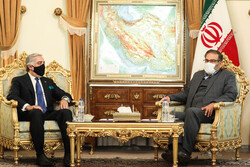 عبداللہ عبداللہ کی ایران کی اعلی قومی سلامتی کونسل کے سکریٹری سے ملاقات