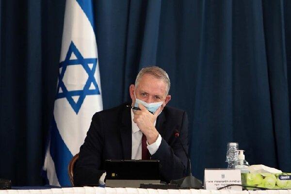 هشدار وزیر جنگ تل آویو نسبت به احتمال برگزاری انتخابات زودهنگام