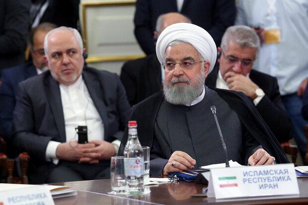 روحاني: لا نرى أمناً دائماً إلا من خلال الشراكة والسلام مع جيراننا