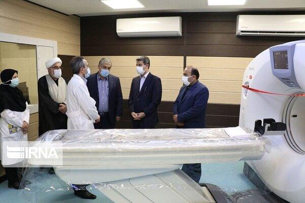 دستگاه سی تی اسکن پیشرفته بیمارستان طالقانی ارومیه افتتاح شد