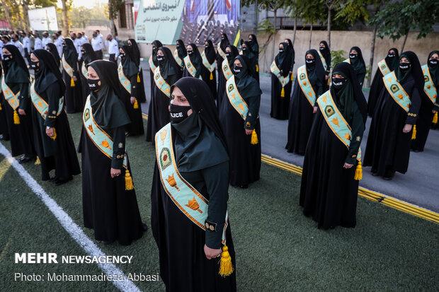 مراسم صبحگاه مشترک نیروی انتظامی