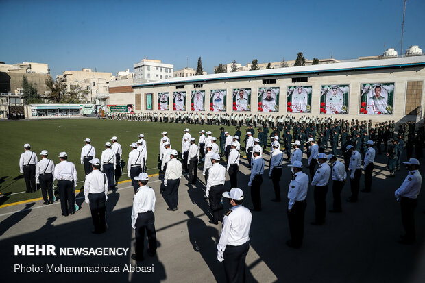 Joint Police Morning Ceremony held on Police Week