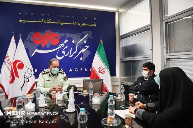 گفتگو با رئیس پلیس مبارزه با مواد مخدر تهران