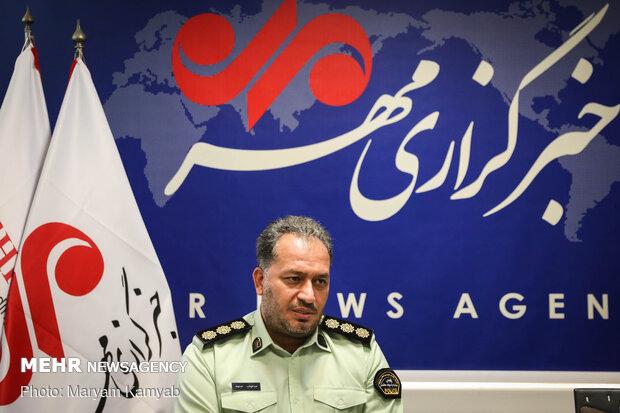 سرهنگ عبدالوهاب حسنوند رئیس پلیس مبارزه با مواد مخدر تهران