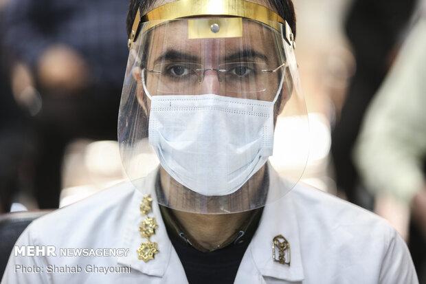 تجلیل مدافعان سلامت از مدافعان امنیت