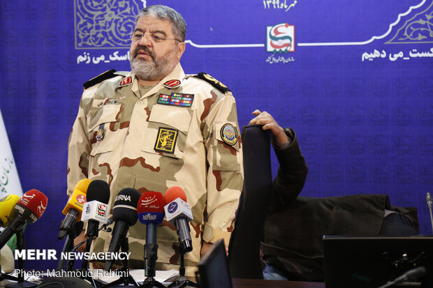 Presser of Passive Defense Organization's chief