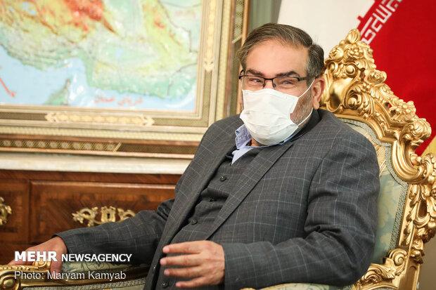 دیدار رئیس شورای عالی مصالحه افغانستان با دبیر شورای امنیت ملی