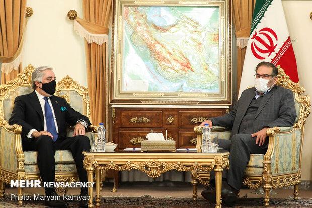 Shamkhani holds meeting with Abdullah on Monday