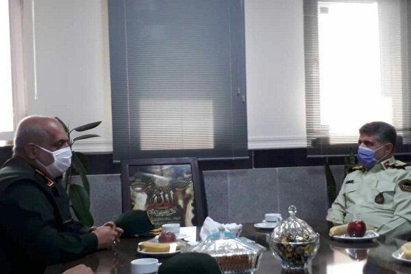 سپاه و ناجا دو بازوی برقراری و تأمین امنیت در جامعه هستند