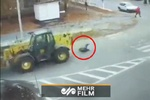 VIDEO: Miraculous rescue of woman from an accident in Ukraine