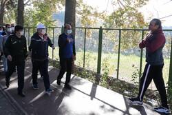 پیاده روی معاون وزیر ورزش به مناسبت هفته تربیت بدنی