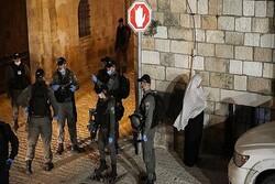 إنتهاكات الكيان الصهيوني مستمرة بحق الاقصى والفلسطينين