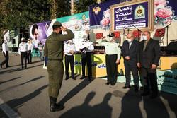 تہران میں ٹریفک کے  بہترین اہلکاروں کے اعزاز میں تقریب