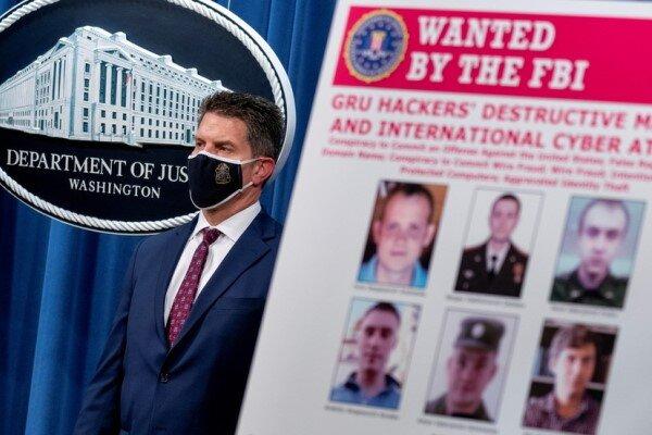 آمریکا ۶ افسر اطلاعاتی روسیه را به حملات سایبری متهم کرد