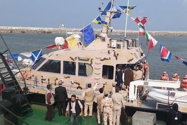 İran sahil güvenlik güçlerine yeni yerli bot teslim edildi