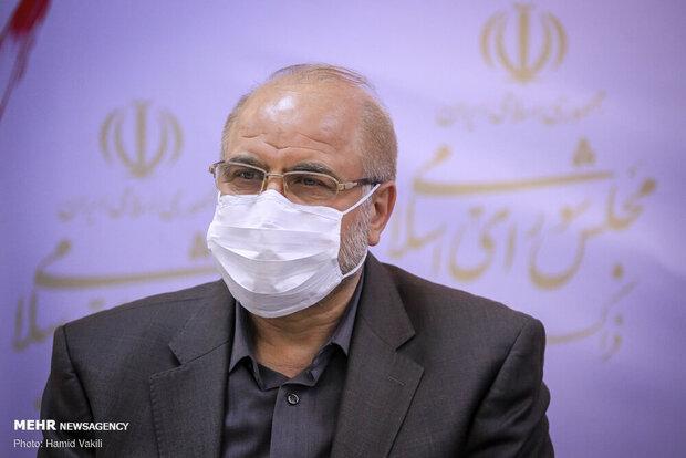 اصابة رئيس مجلس الشورى الاسلامي بفيروس كورونا