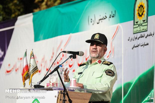 سردار حسین رحیمی رئیس پلیس پایتخت