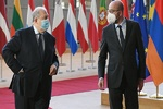 سرکیسیان با رئیس شورای اروپا دیدار کرد/ درخواست ارمنستان از ترکیه