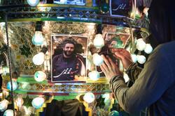 شہید محمد محمدی کے گھر کا غمناک  منظر