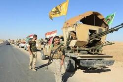 مدفعية الحشد تستهدف تجمعاً لعناصر داعش في صلاح الدين