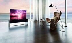 تلویزیون لوله شونده به بازار آمد