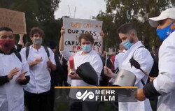 VIDEO: Hospitality workers protest in UK