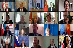 عقد اجتماع افتراضي لمجلس الامن حول امن الخلیج الفارسي