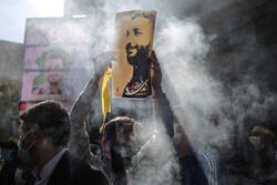 مراسم تشییع پیکر شهید امر به معروف «محمد محمدی»